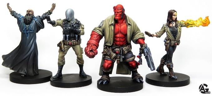 Hellboy miniature