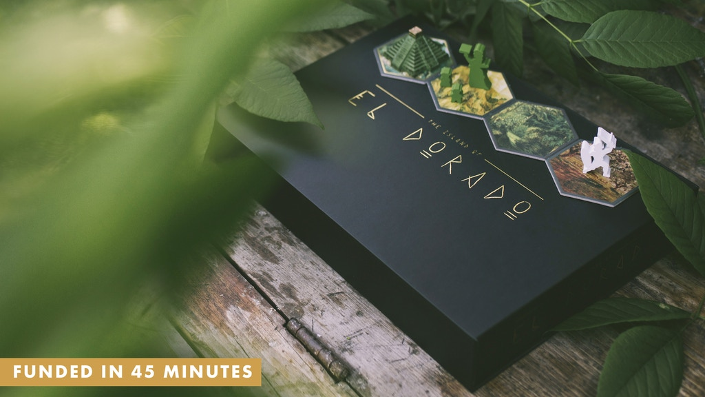 The Island of El Dorado (reprint & expansion) is the top crowdfunding project launched today. The Island of El Dorado (reprint & expansion) raised over $203512 from 3360 backers. Other top projects include Snowdonia Deluxe Master Set, RESOCARD Game: a fast and fun cosplay trading card game, Tabuum!...