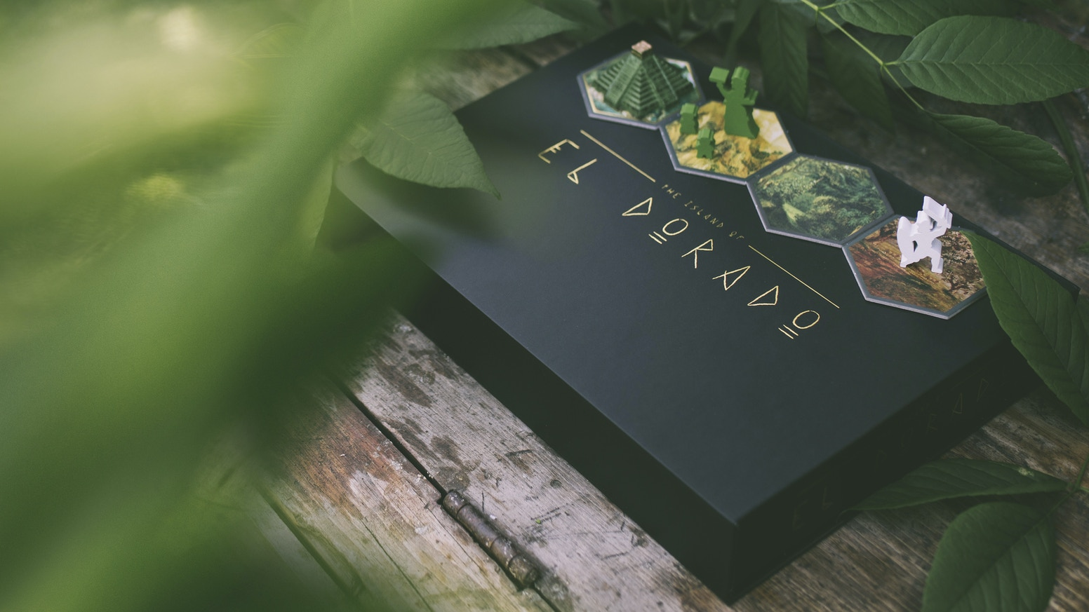 A strategic board game. Explore the island, gather its resources, and cross swords as you race to control powerful shrines.
