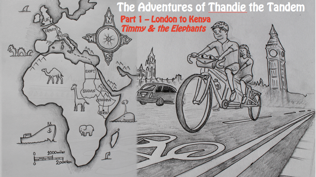 The Adventures of Thandie the Tandem project video thumbnail