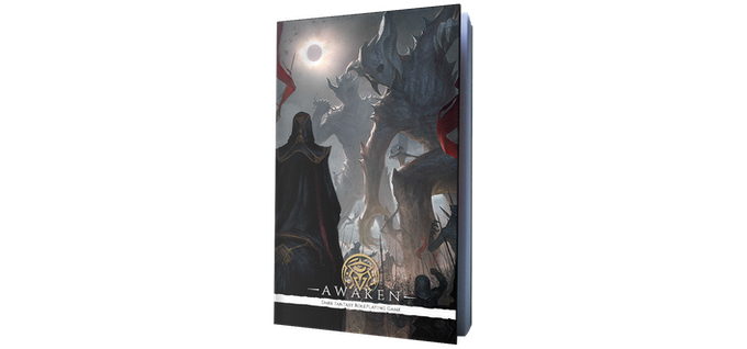 The original Awaken Core Rulebook
