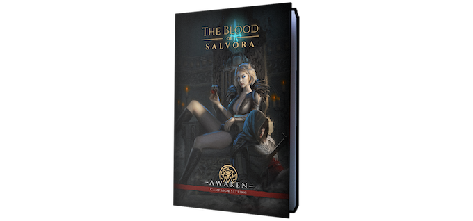 Full-color hardcover book, estimated to 216 pages (before the stretch goal expansion)