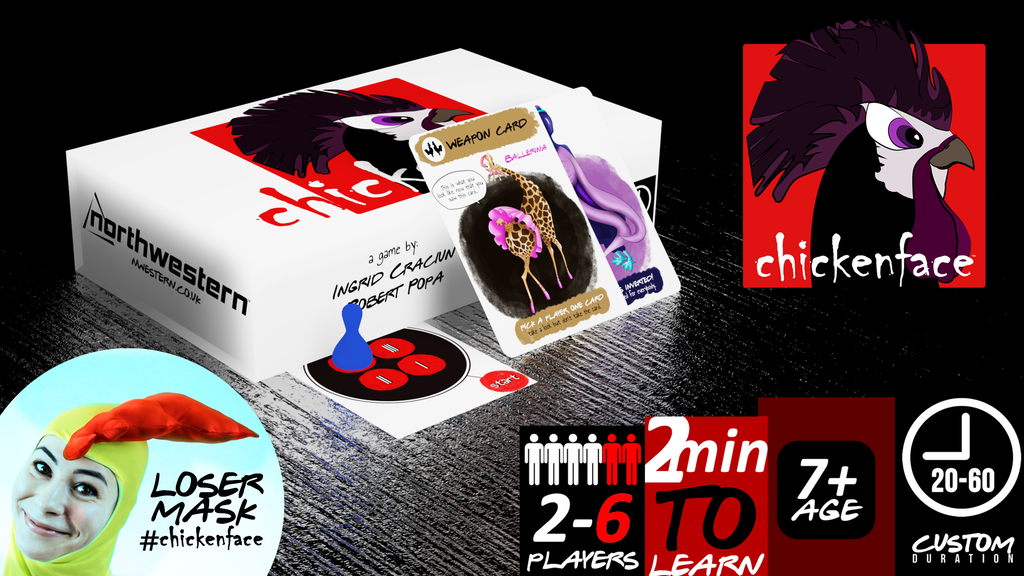 ChickenFace: A funny game with a price to pay if you lose!