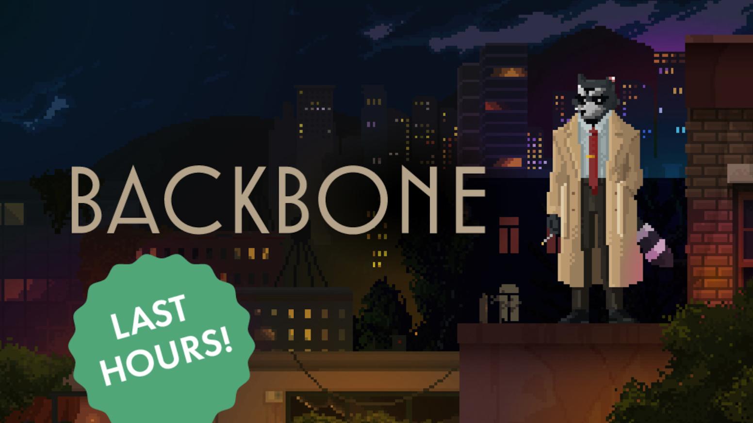 Backbone — pixel art detective adventure inspired by noir by EggNut