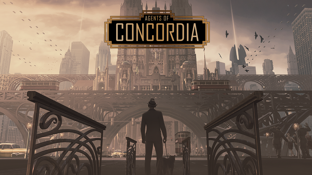 Agents of Concordia the Roleplaying game project video thumbnail