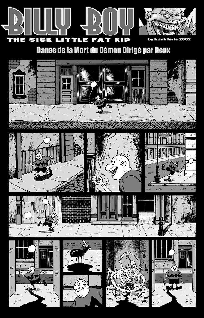 """Billy Boy #2 """"Danse de la Mort"""" Page 1"""