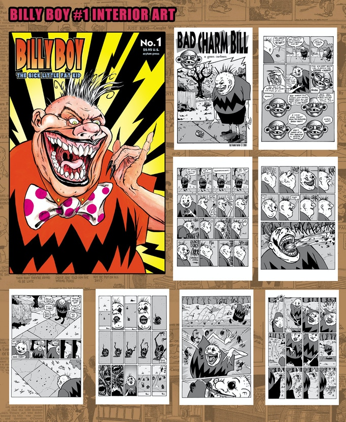 Billy Boy #1 Cover and Interior pages