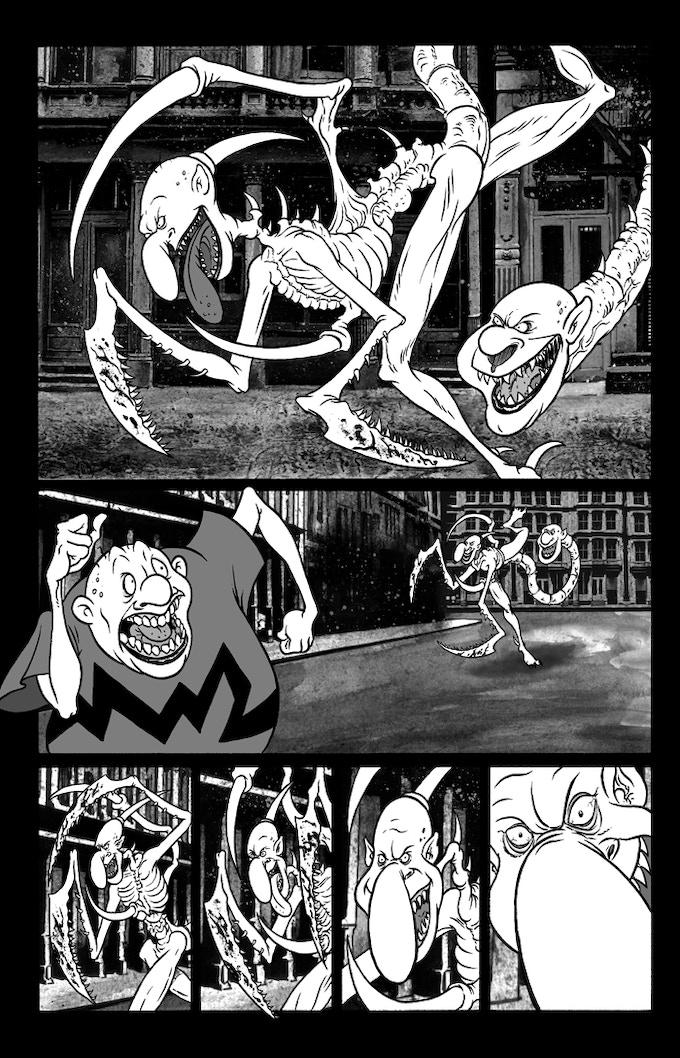 """Billy Boy #2 """"Danse de la Mort"""" Page 4"""