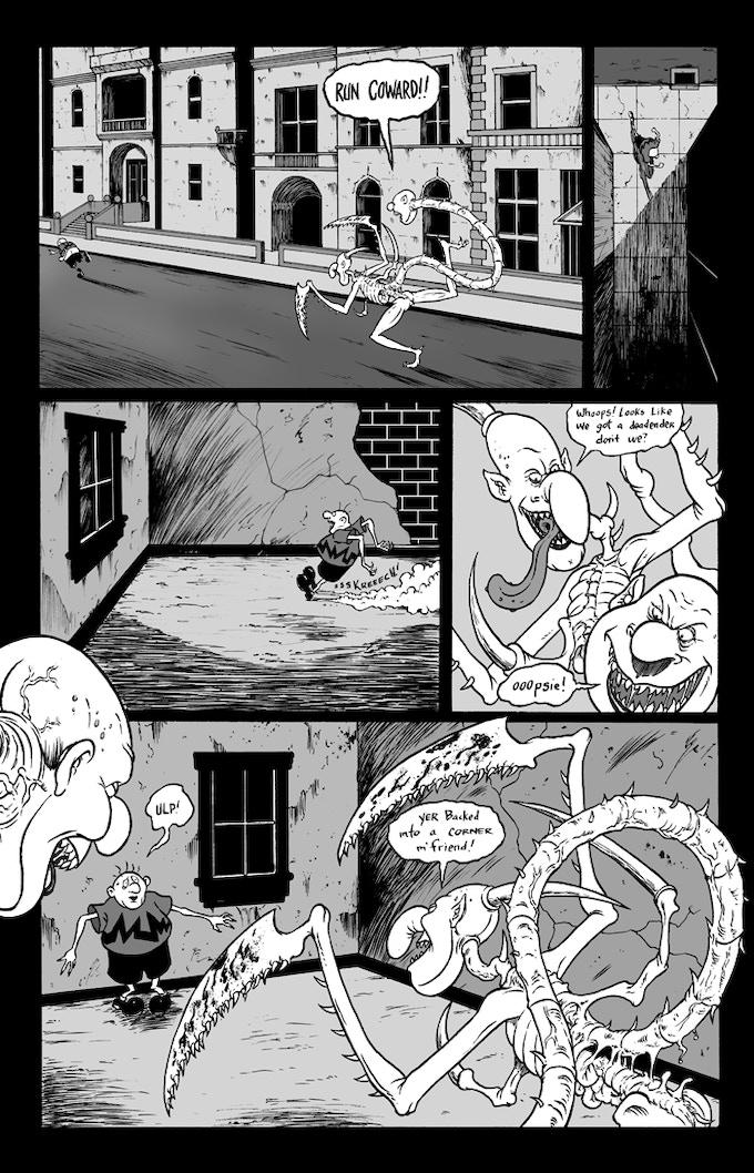 """Billy Boy #2 """"Danse de la Mort"""" Page 5"""