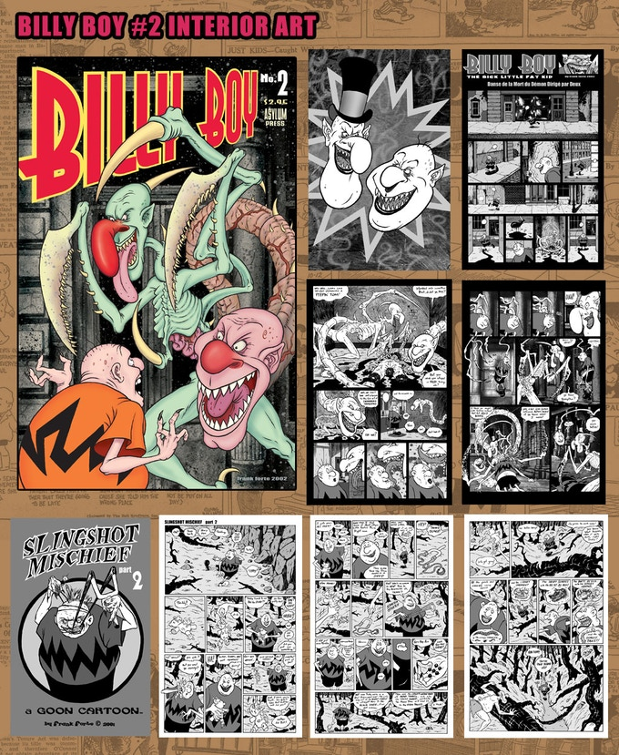 Billy Boy #2 Interior Pages