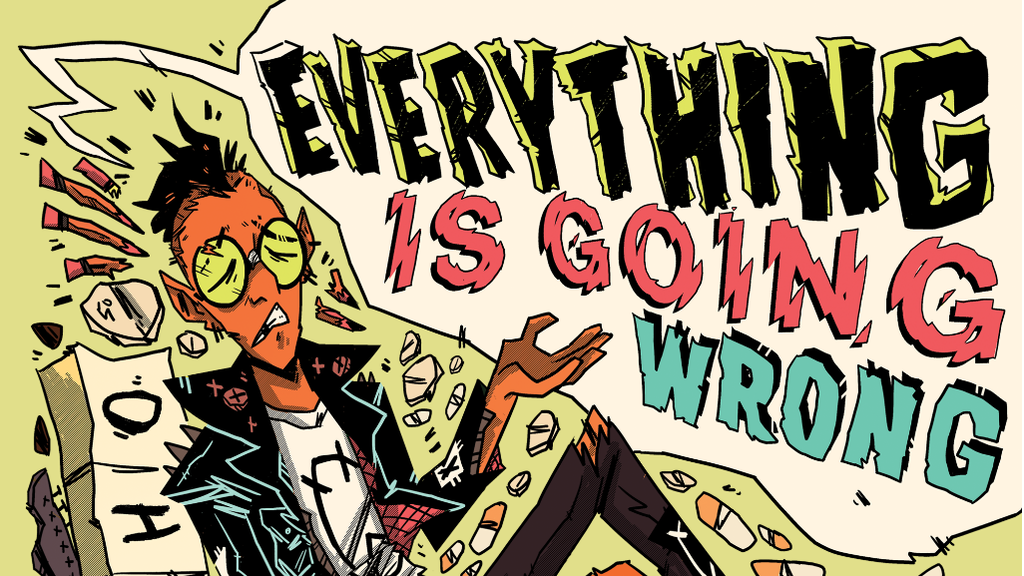 EVERYTHING IS GOING WRONG: Comics on Punk & Mental Illness project video thumbnail