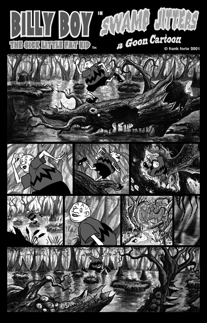 "Billy Boy ""Swamp Jitters"" page 1"