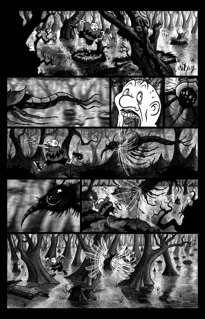 "Billy Boy ""Swamp Jitters"" page 2"