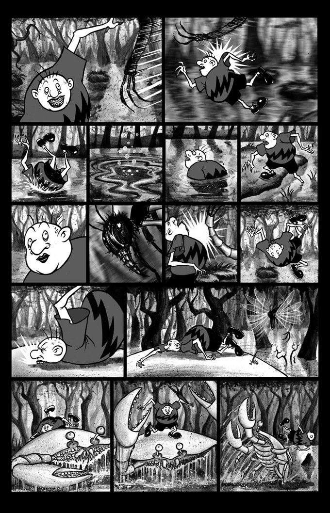 "Billy Boy ""Swamp Jitters"" page 3"