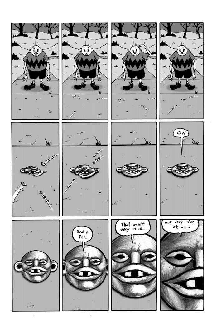 "Billy Boy ""Bad Charm Bill"" page 10"