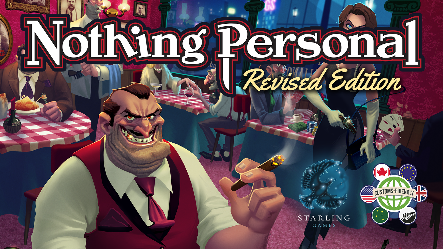 Nothing personal revised edition by game salute pledging for the introducing a new revised edition of nothing personal new features include location cards new colourmoves
