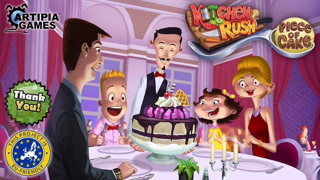 Kitchen Rush - Piece of Cake project video thumbnail