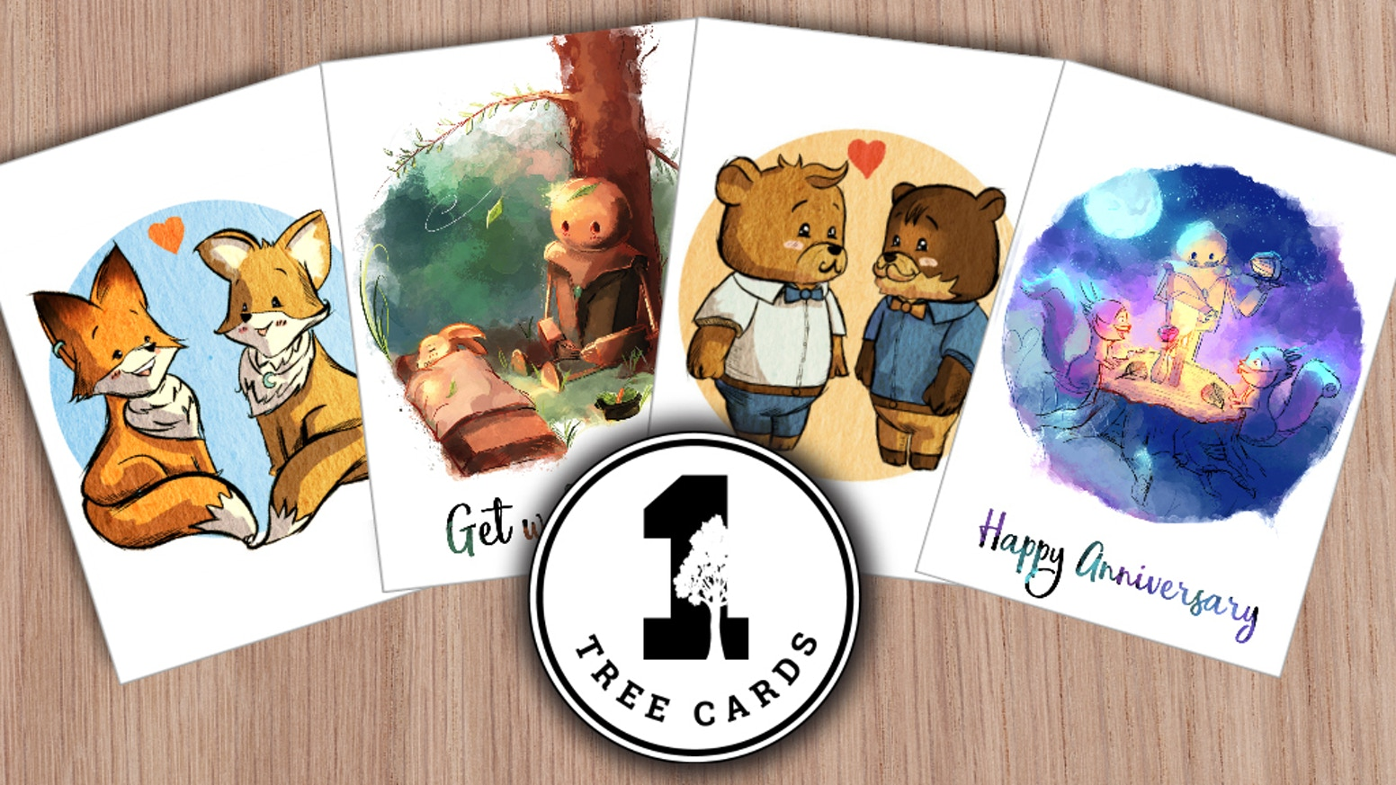 1 Tree Cards Eco Greeting Cards That Plant Trees By 1 Tree Cards