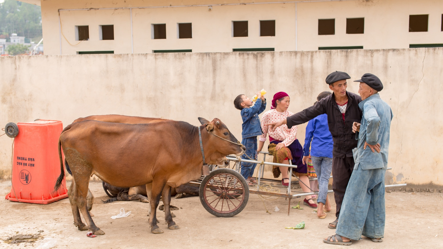 For about the last two years I've been photographing and exploring the daily life in northern Vietnam.