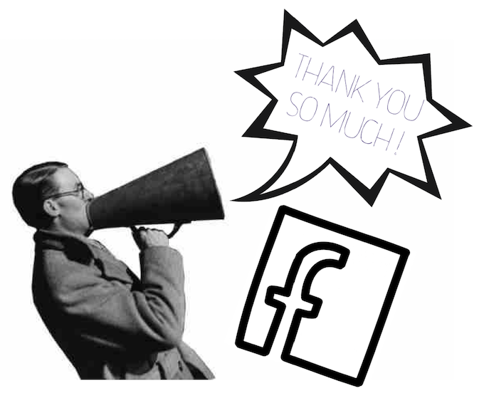 A big thanks on the film's Facebook page