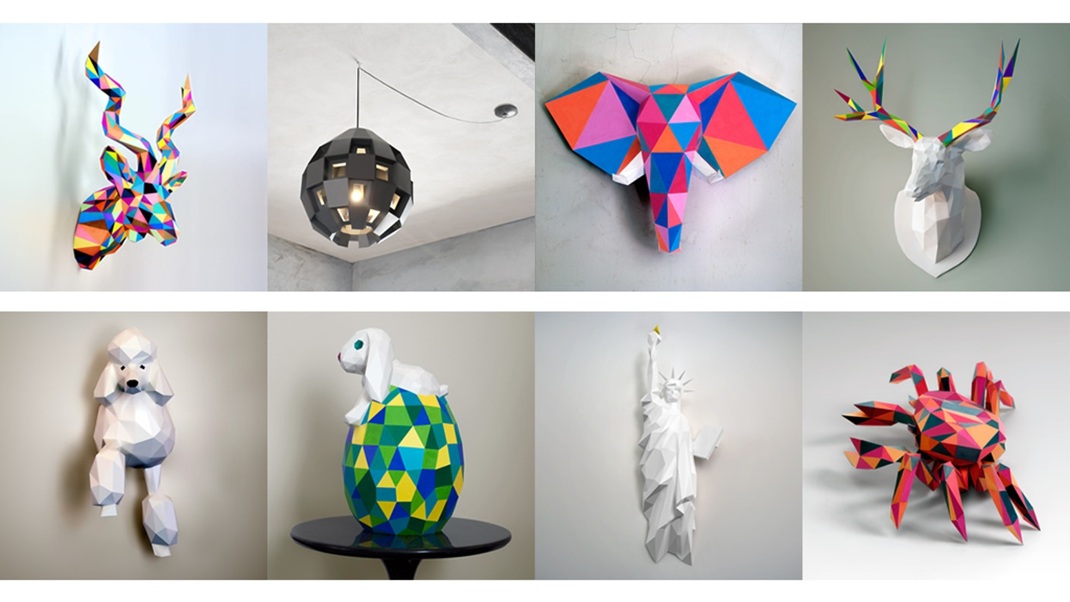 make your own papercraft sculptures by ecogamishop by eric kickstarter