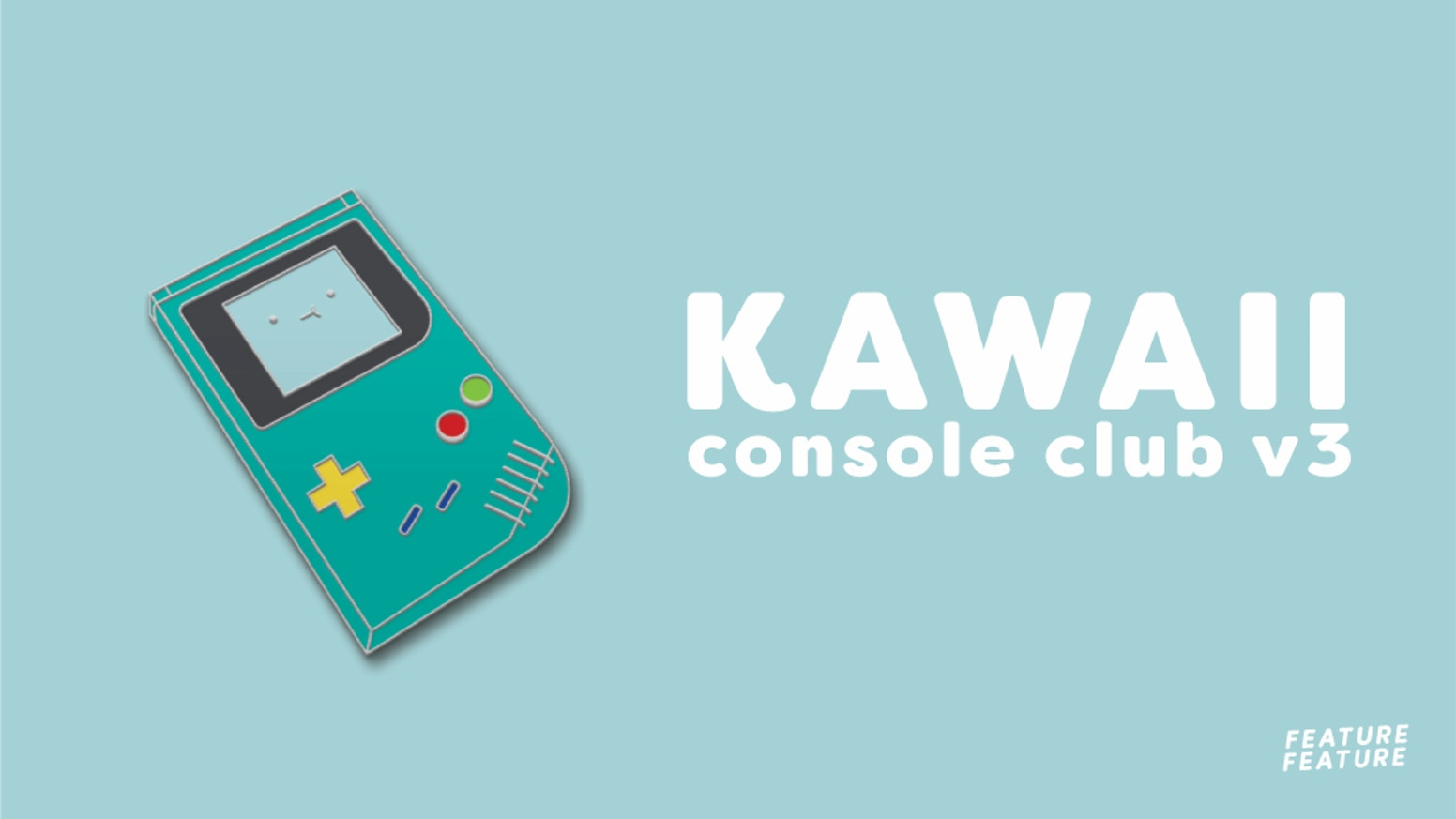 This kickstarter helped fund the Kawaii Console Club v3 Hard Enamel Pins by Dbl Feature! Thanks to everyone who backed this Kickstarter! We love you!