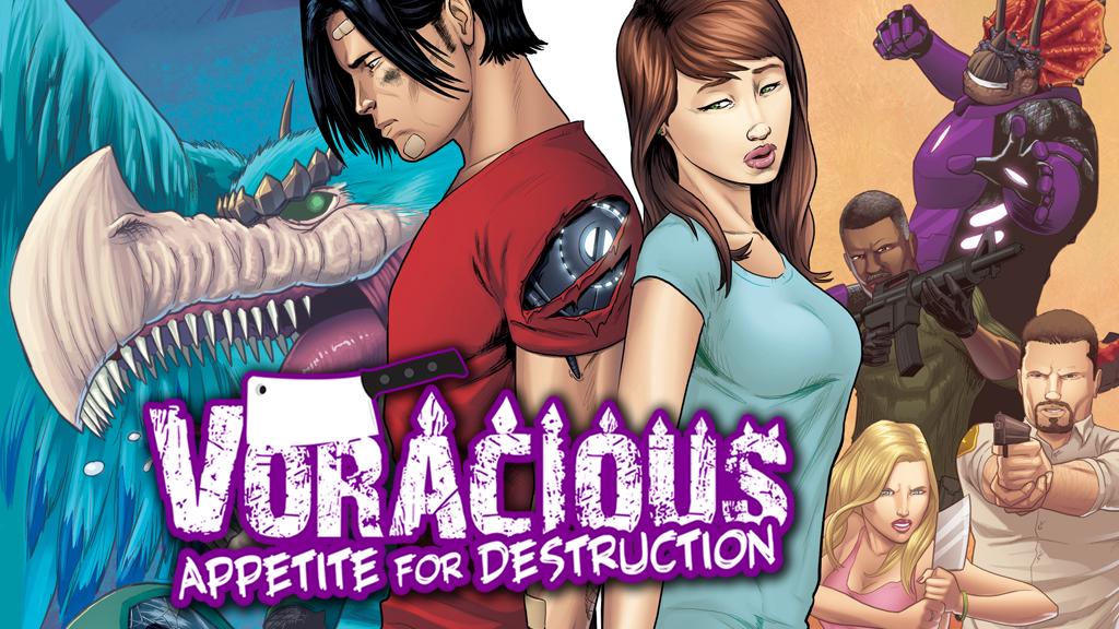 VORACIOUS: APPETITE FOR DESTRUCTION #1 project video thumbnail