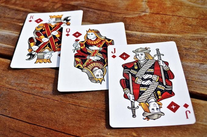 Diamond Court Cards