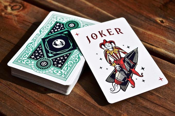 Back Design & Joker