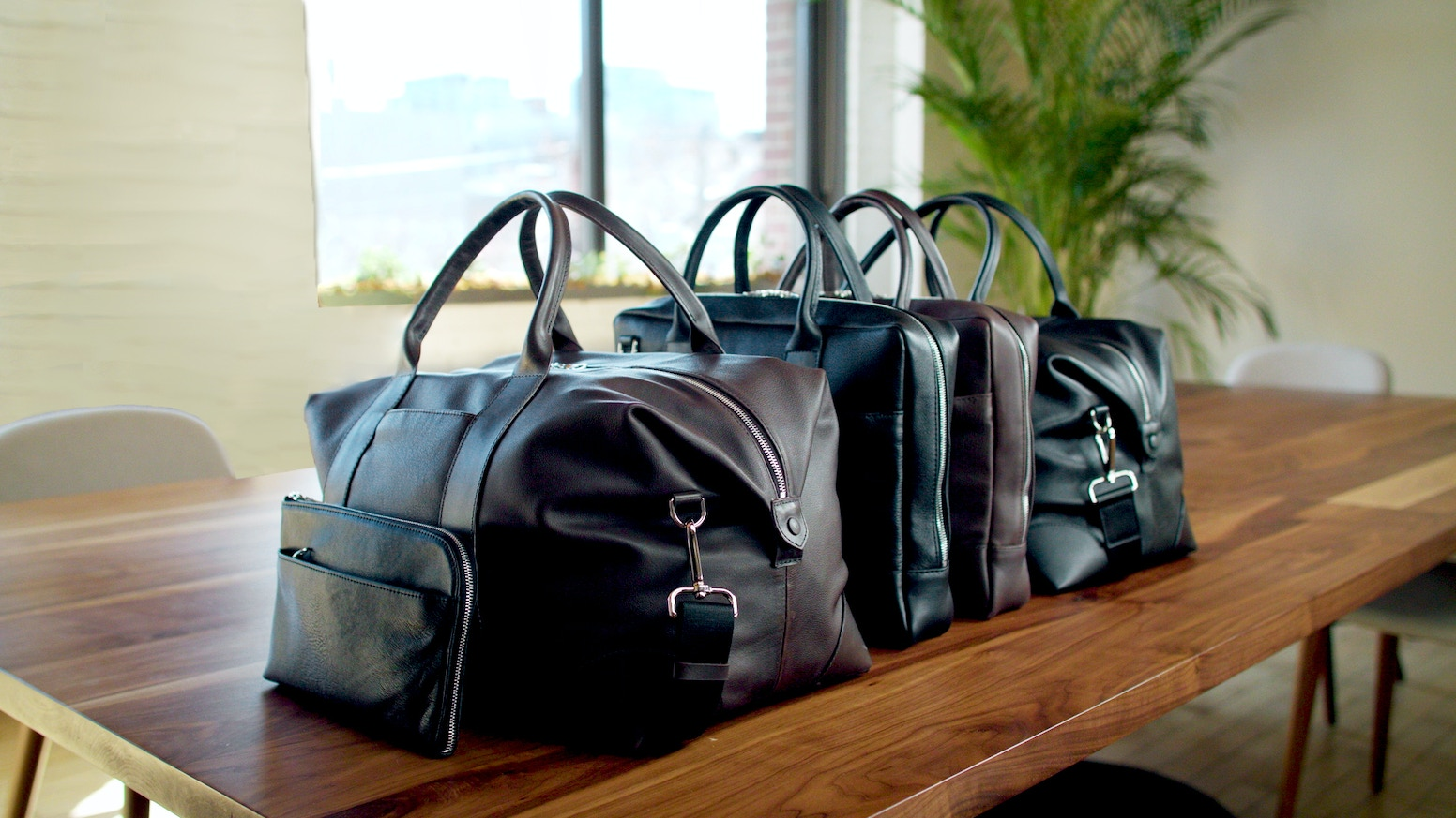 Luxury bags, thoughtfully designed and produced for your journey through life.