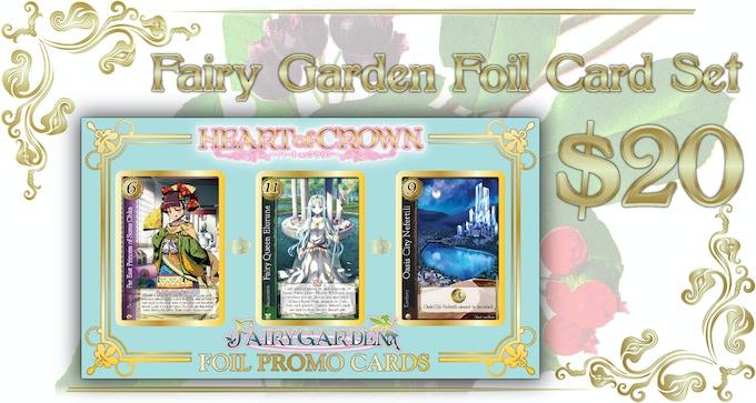 Comes with 7 Princesses (2 Alt Art), 11 Support Cards (1 Alt Art), 1 Fairy Queen, 1 Oasis City Nefertili