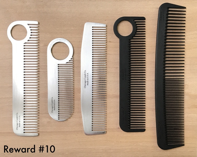 The Ultimate Carbon Fiber Hair Combs by Chicago Comb Co  — Kickstarter