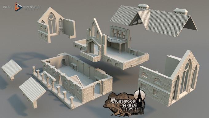 Scriptorium build plan for gameplay efficiency