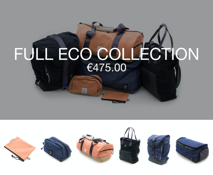 Pledge €475 and receive the full Sealand Eco collection at 40% discount (RRP ±€795).