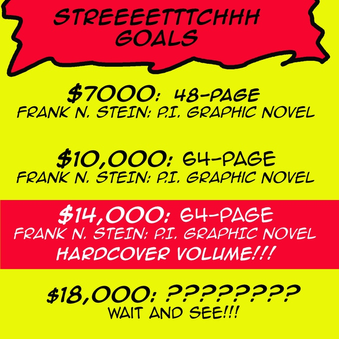 Here there be stretch goals