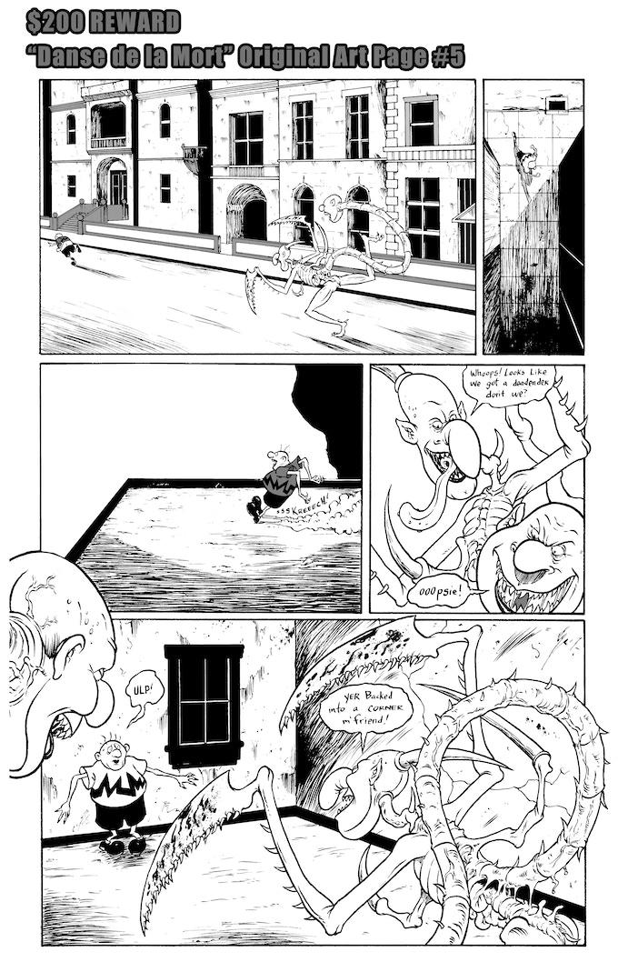 Danse de la Mort Original Art Page #5