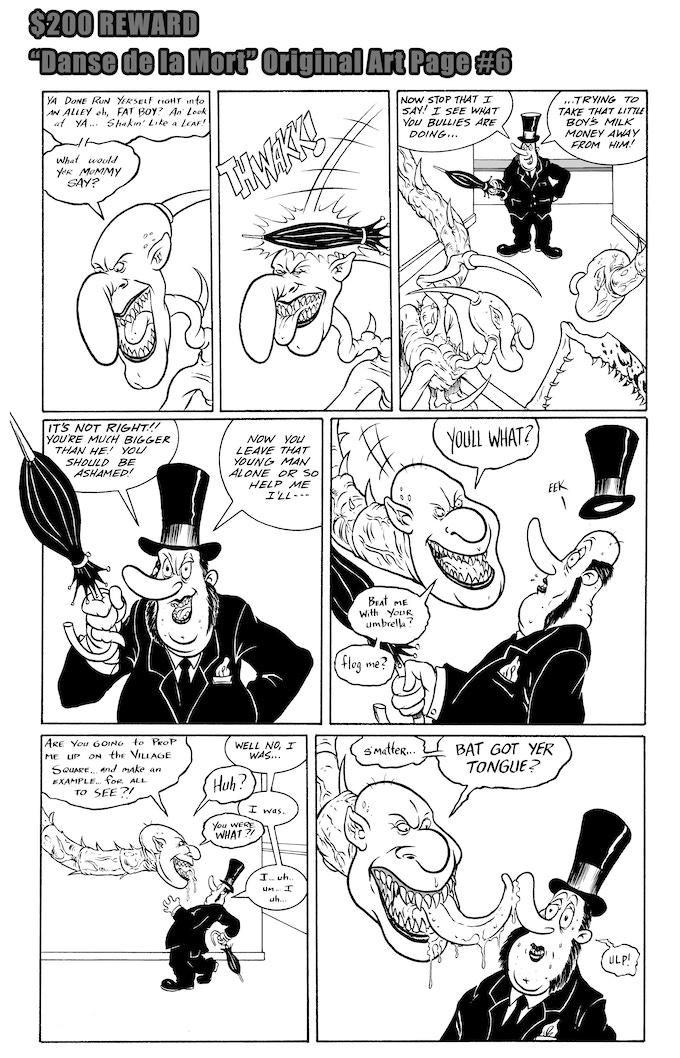 Danse de la Mort Original Art Page #6