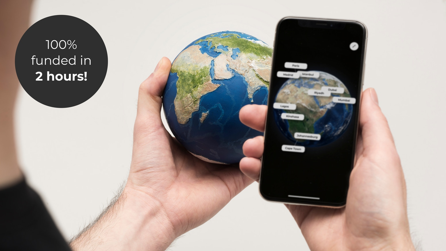 A 3D Printed Hand Painted Globe Taking You Through Time To Explore Our