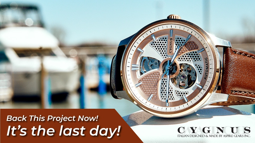 CYGNUS Watch: An Automatic Watch for All Occasions project video thumbnail