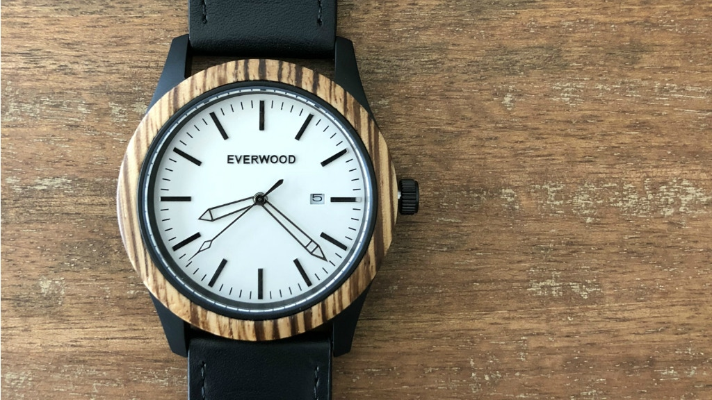 Inverness Watch | Rugged Mix of Wood & Stainless Steel project video thumbnail
