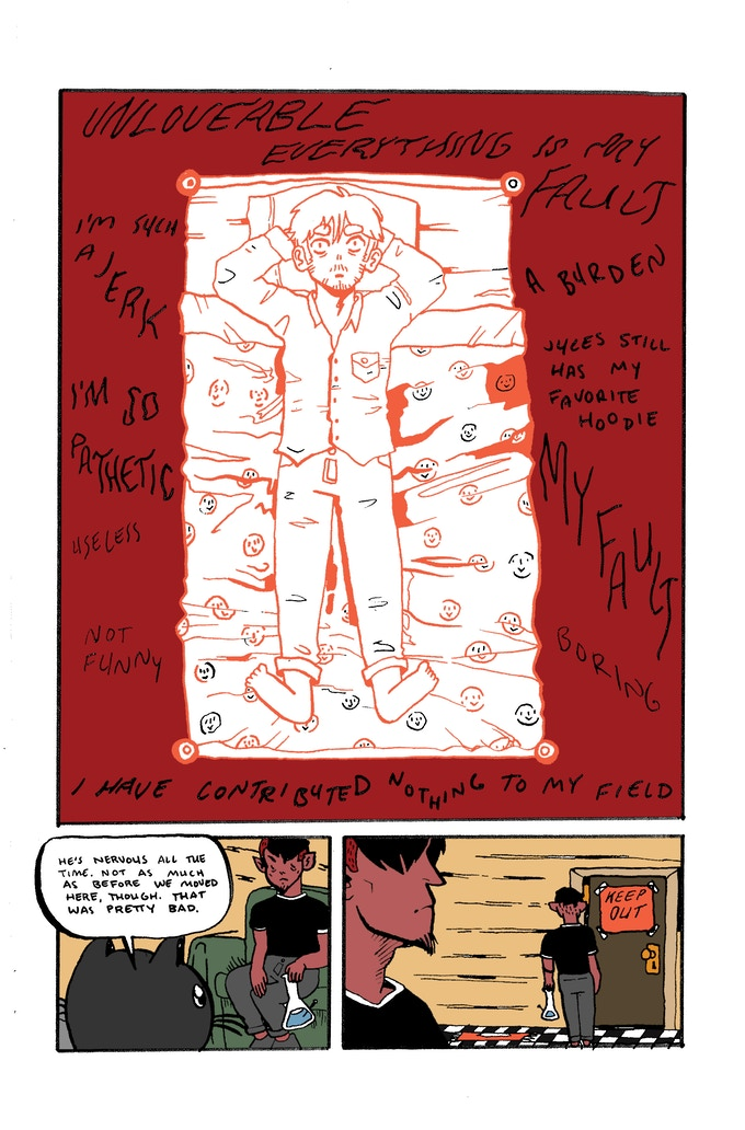 Interior page from H,oMC 2, by Mark Bouchard & Caroline Cash