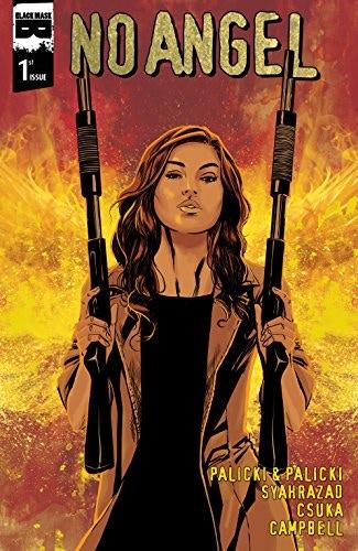 No Angel #1 Cover by Amancay Nahuelpan