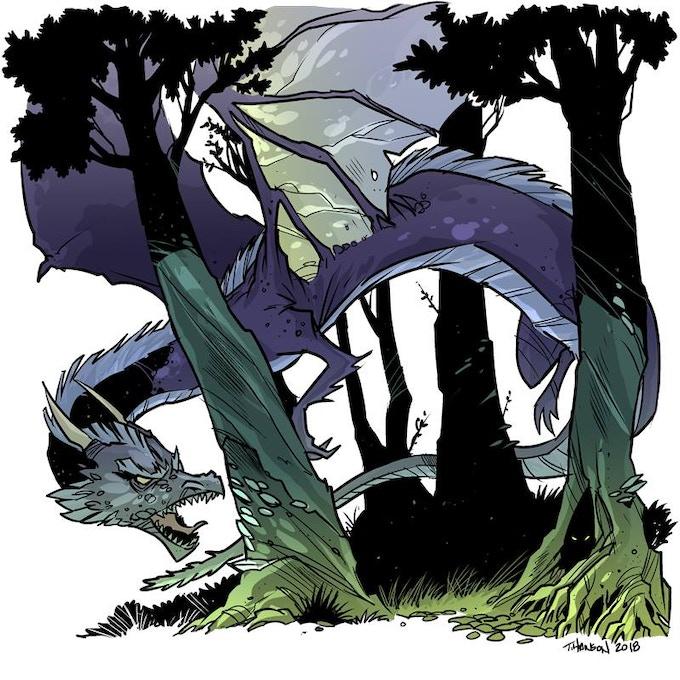 Final version of the Fey Dragon