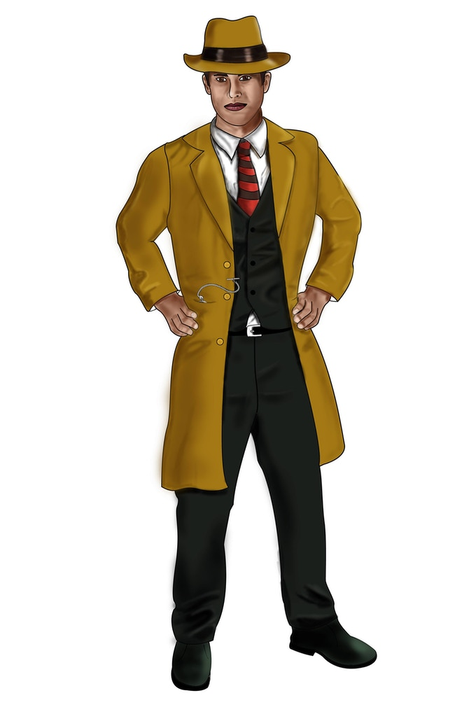 Est-ce que ce détective pourra vous aider? / Is this detective will be able to help you?