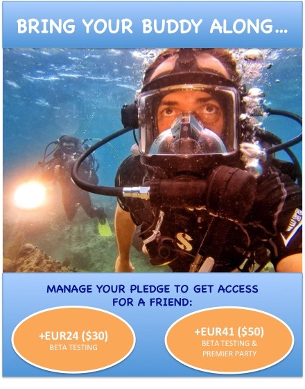 diveLIVE: LIVE streaming of interactive SCUBA dives by