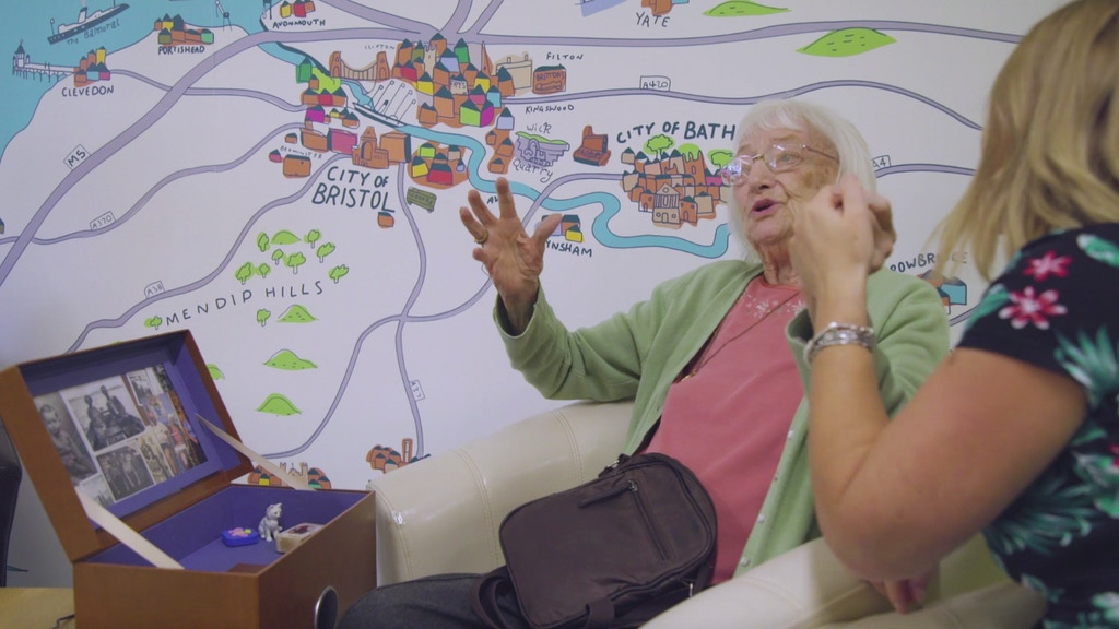 Music Memory Box - new tech for people living with dementia project video thumbnail