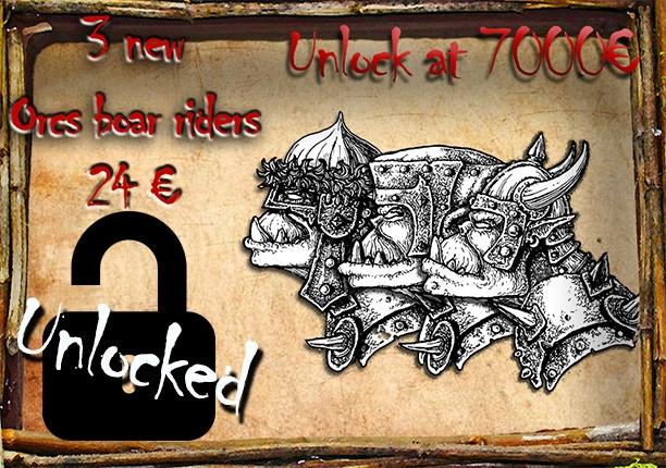 Orc boar riders!