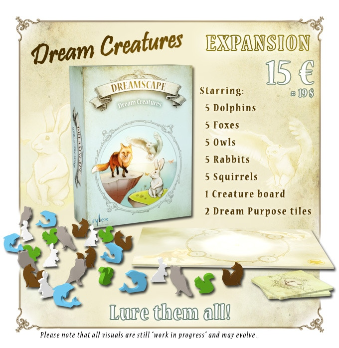 Click on the picture for a short description of Dream Creatures