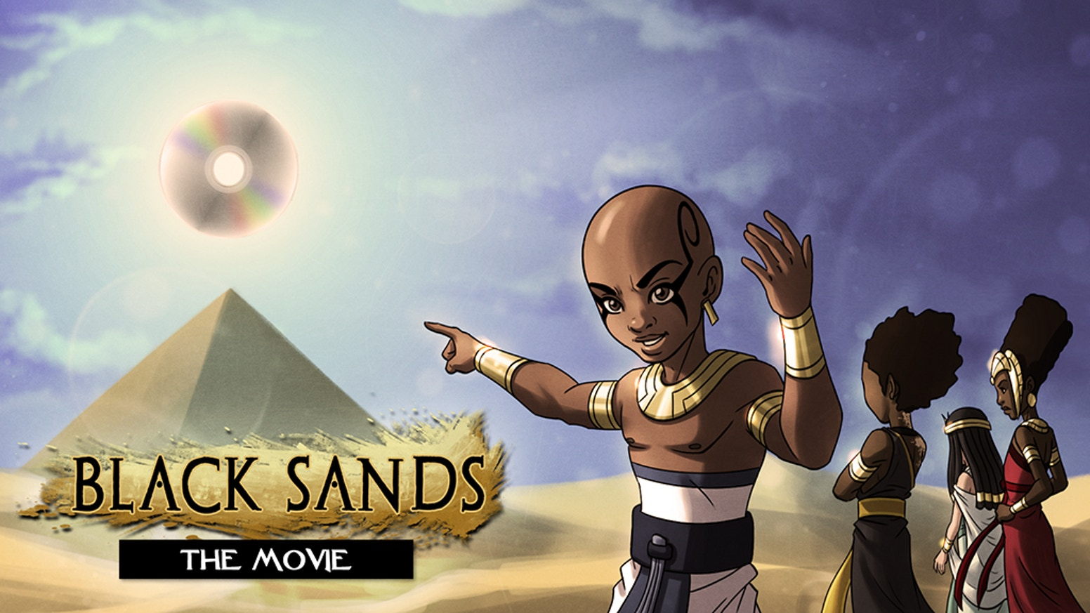 Black Sands - An Animated Pilot Based Off The Award Winning Black Sands Universe. Subscribe to help this company grow below!