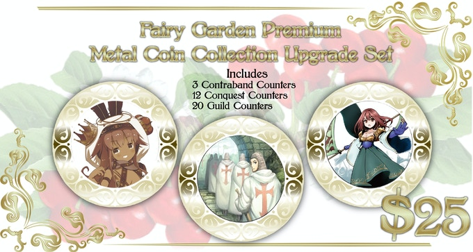 Includes 35 Coins from Fairy Garden